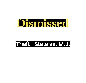 Theft _ State vs. M.J_